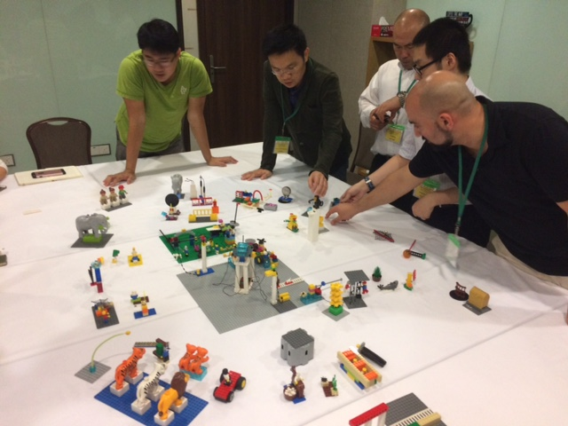 Participation creates lean in meetings