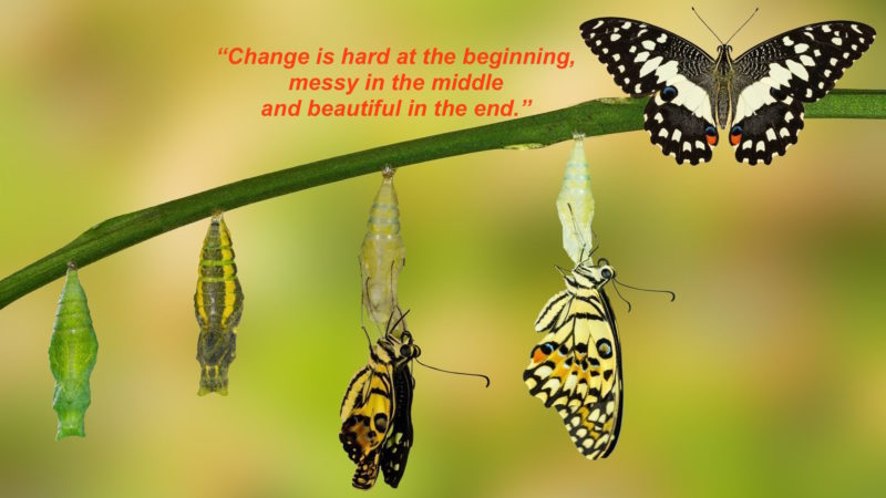 Getting clear about what we mean by 'change'